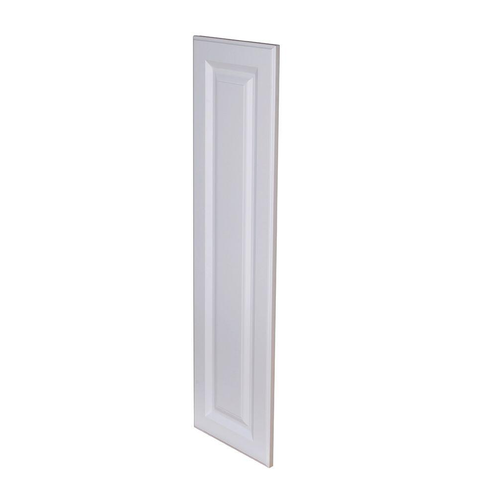 Hallmark Assembled 12 x 36 x .75 in. Wall End Panel