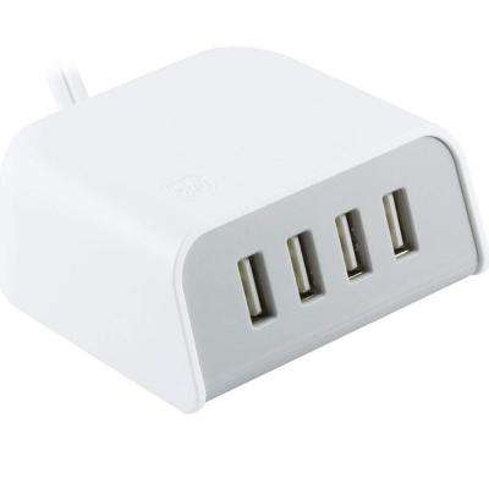 24-Watt 4.8 Amp 6 ft. 4 USB UltraPro Tabletop Charger