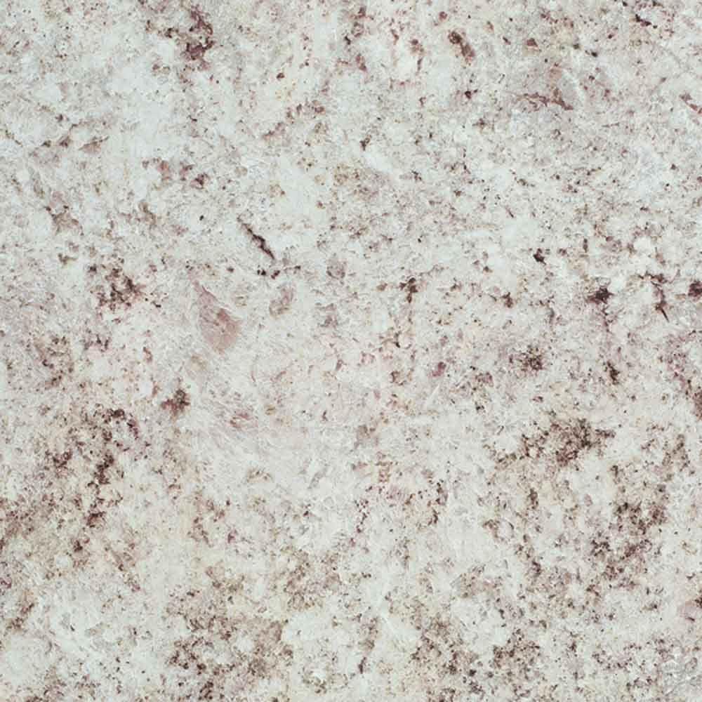 3 ft. x 8 ft. Laminate Sheet in White Juparana with Standard Fine Velvet Texture Finish