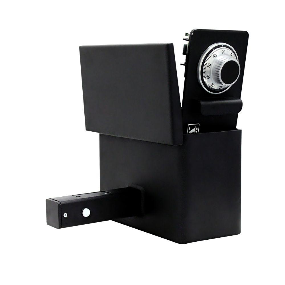 0.2 Hitch-Vault Safe with Combination Lock in Black