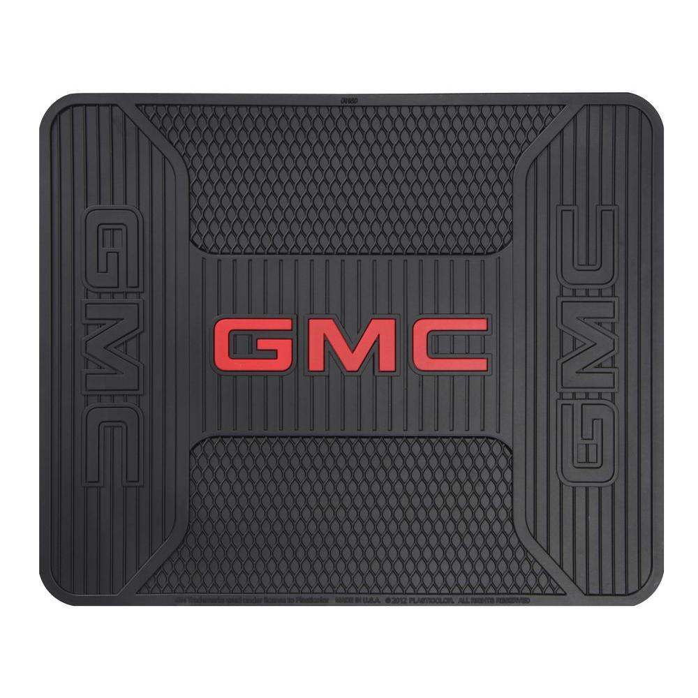 GMC Elite Heavy Duty 17 in. x 14 in. Vinyl Utility Car Mat
