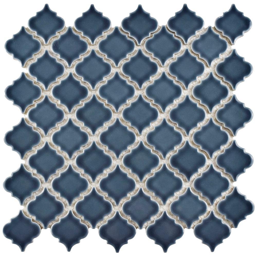 Arabesque - Gray - Backsplash - Tile - Flooring - The Home Depot