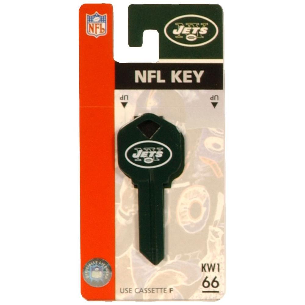 uk availability 27605 77beb Hillman #66 NFL New York Jets House Key