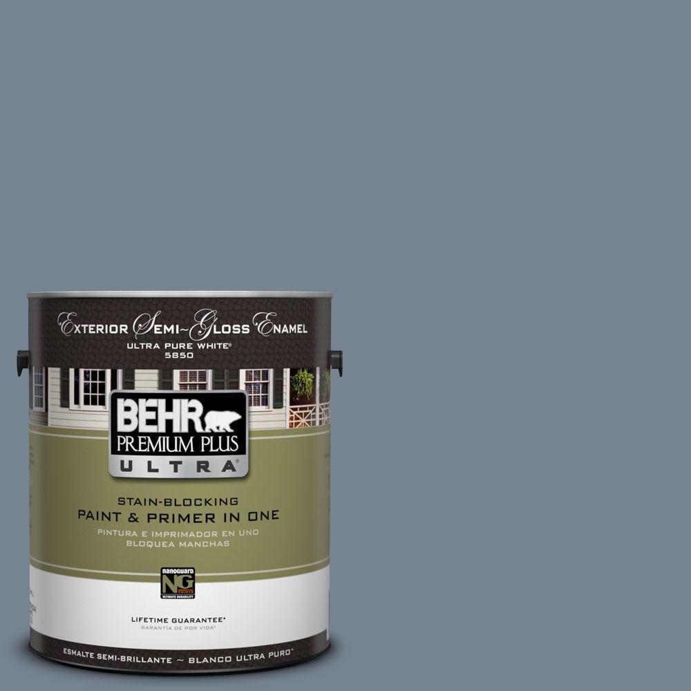 Behr Premium Plus Ultra 1 Gal Ul230 5 Forever Denim Semi