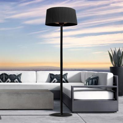 Shade 1,500-Watt 7 ft. Black Electric Patio Heater with Remote