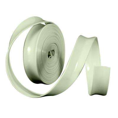 1 in. x 100 ft. Vinyl Trim Insert, White