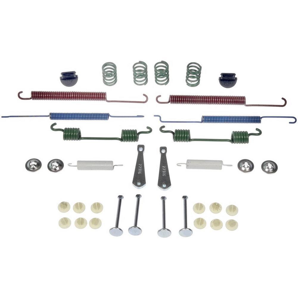 First Stop Drum Brake Hardware Kit 2011-2012 Volkswagen Jetta 2.0L 2.5L