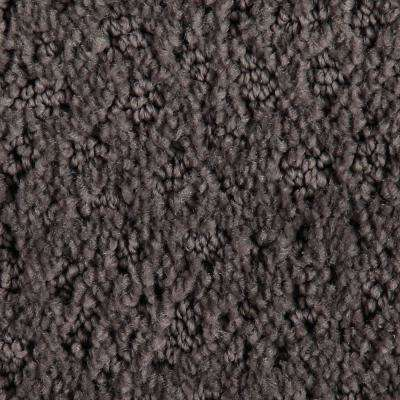 Carpet Sample - Hopeful Wishes - Color Grey Hill Pattern 8 in. x 8 in.