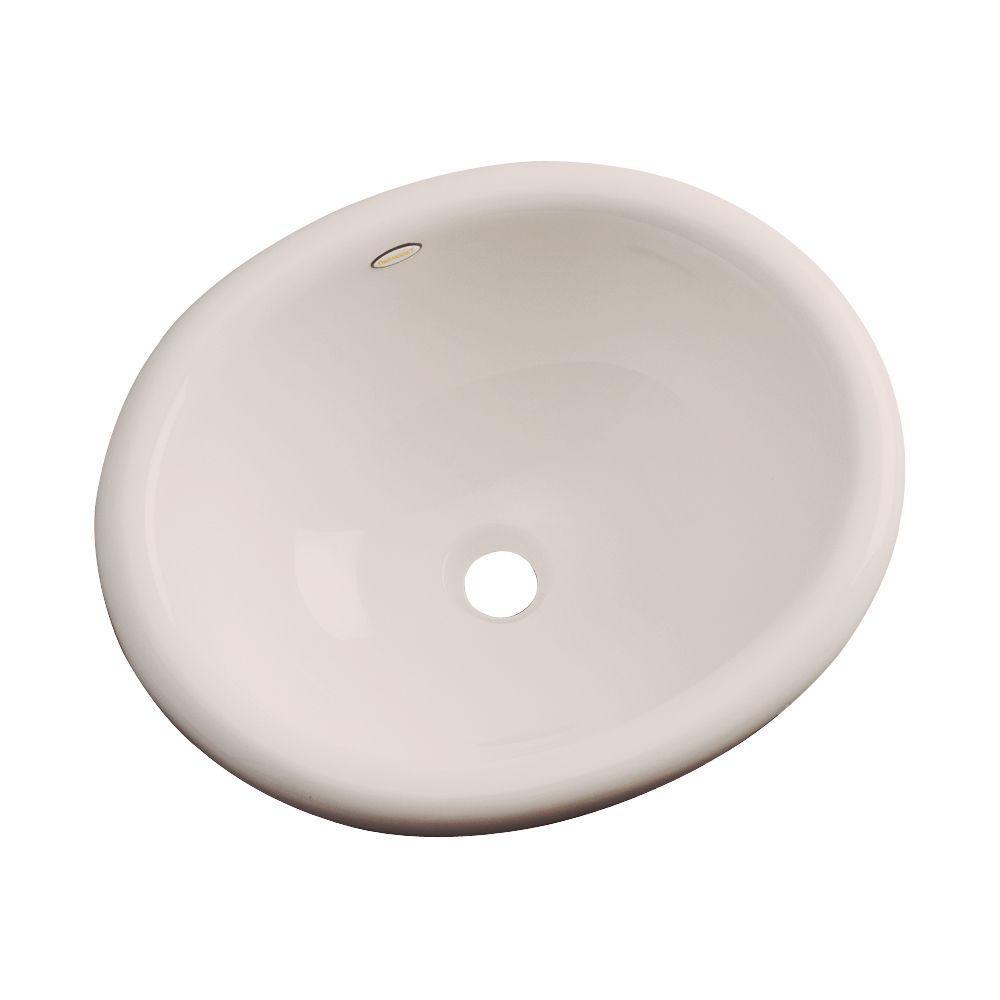 Madeira Drop-In Bathroom Sink in Shell