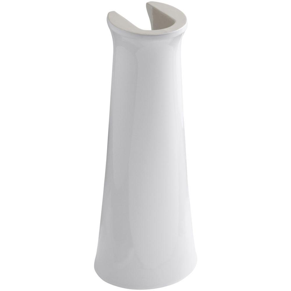 Cimarron Vitreous China Pedestal in White