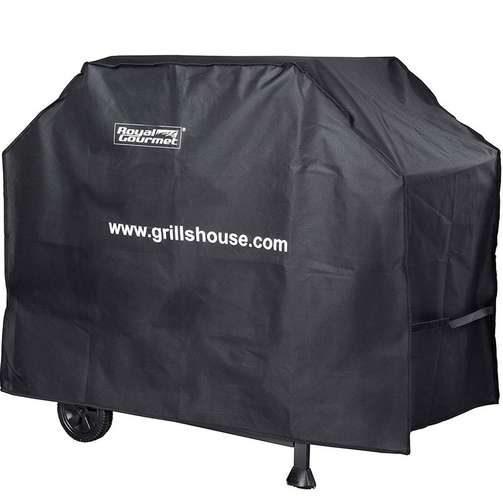 54 in. L Heavy-Duty Oxford BBQ Grill Cover