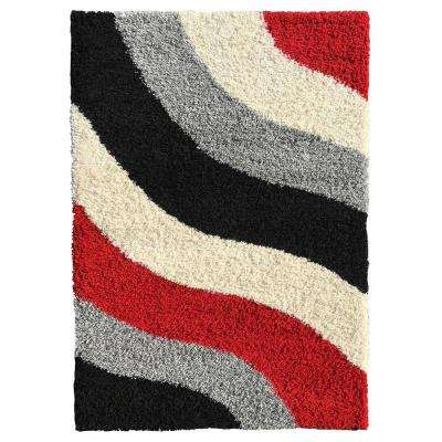 Bella Collection Red 3 ft. x 5 ft. Area Rug