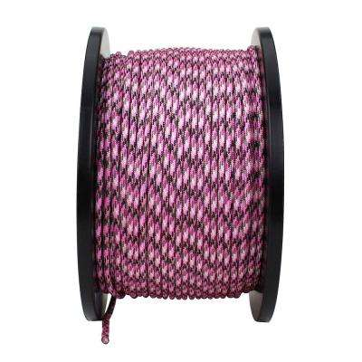 1/8 in. x 500 ft. Paracord, Pink Camouflage