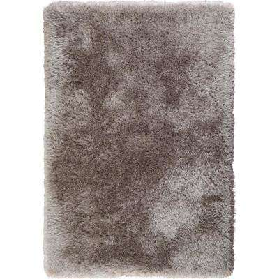 Glimmer Grey 5 ft. x 7 ft. Shag Area Rug