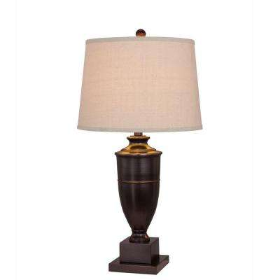 30 in. Old English Metal Table Lamp