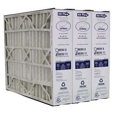 20 in. x 25 in. x 5 in. Non-Woven Pleated Air Filter FPR 7 (3-Pack)