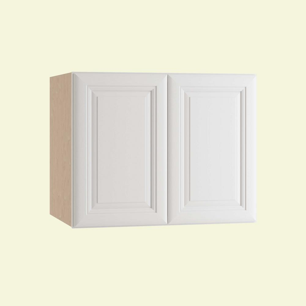 Brookfield Assembled 30x18x24 in. Double Door Wall Kitchen Cabinet in Pacific