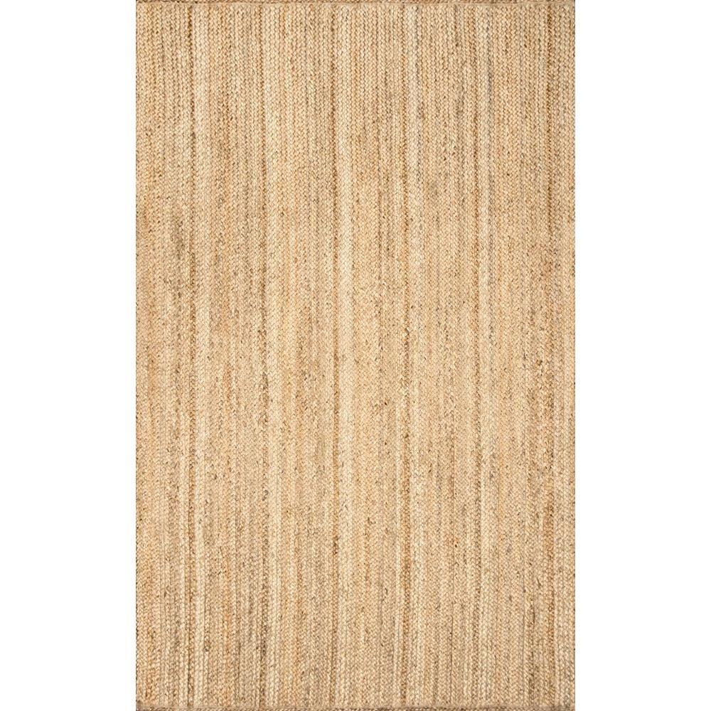 Nuloom Rigo Jute Natural 8 Ft X 10 Area Rug
