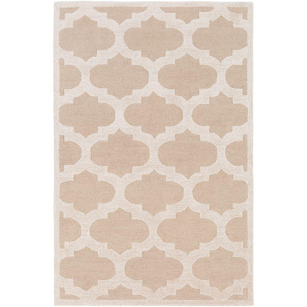 Arise Hadley Beige 8 ft. x 11 ft. Indoor Area Rug