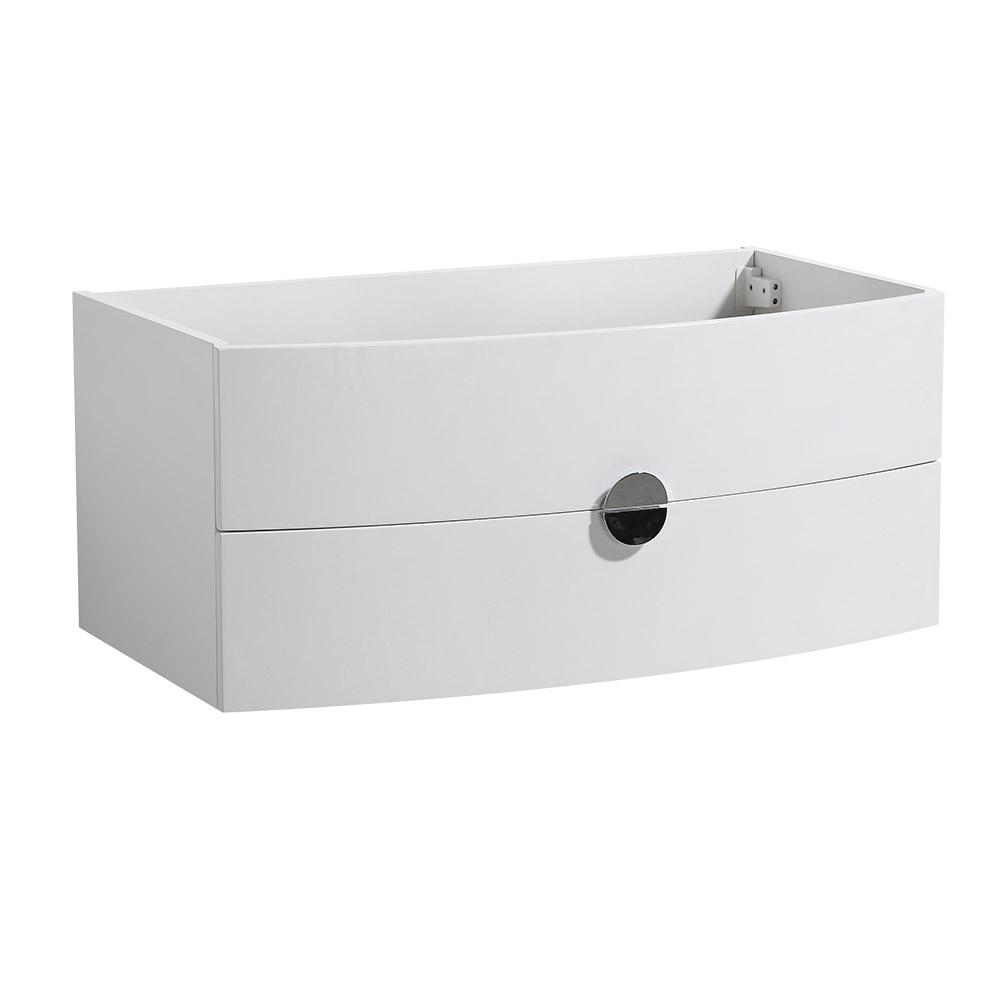 Energia 36 in. Bathroom Vanity Caninet Only in White