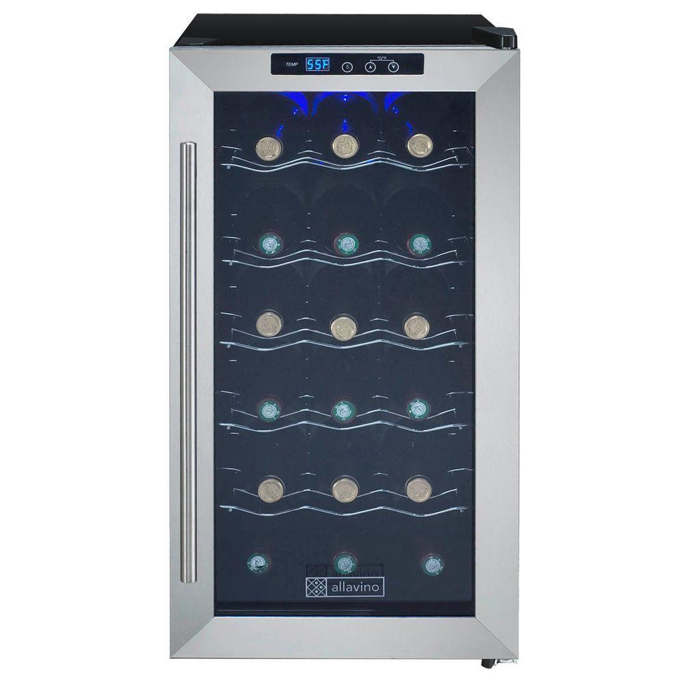 18-Bottle Wine Refrigerator