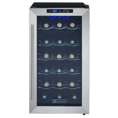 18-Bottle Wine Refrigerator