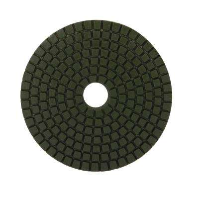 4 in. 100 Grit Resin Wet Polishing Pad