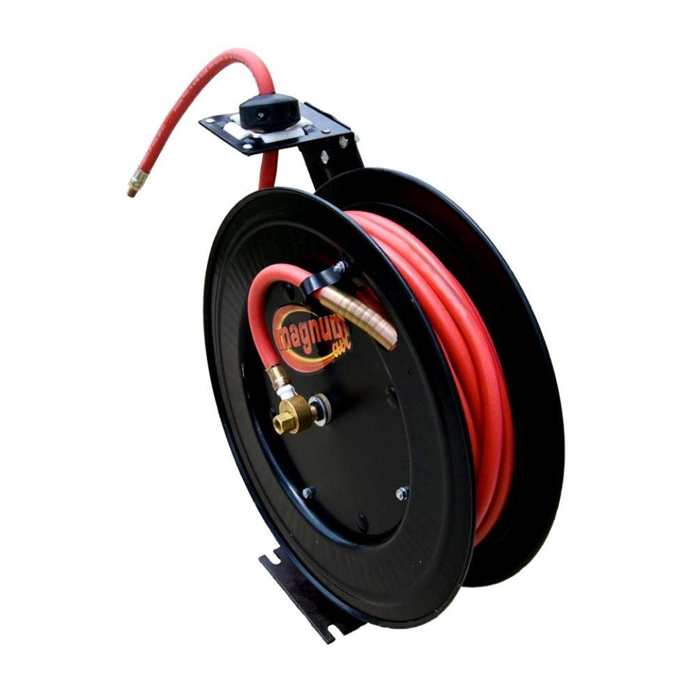 speedway 50 ft. retractable air hose reel