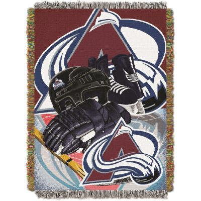 Colorado Avalanche Polyester Throw Blanket