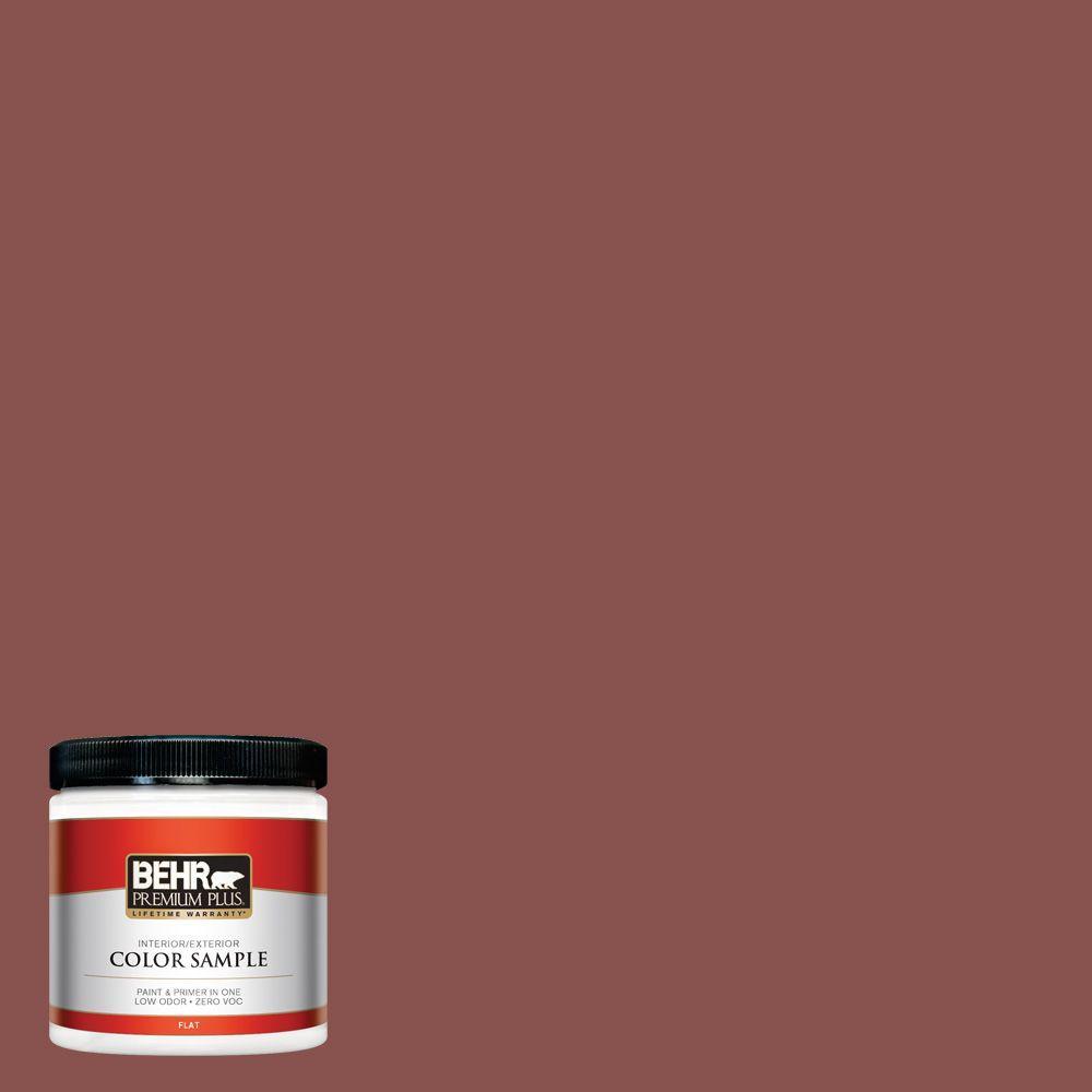 8 oz. #160F-6 Boston Brick Interior/Exterior Paint Sample
