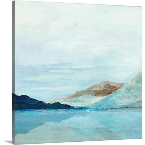 Coastal Mountains By Isabelle Z Canvas Wall Art