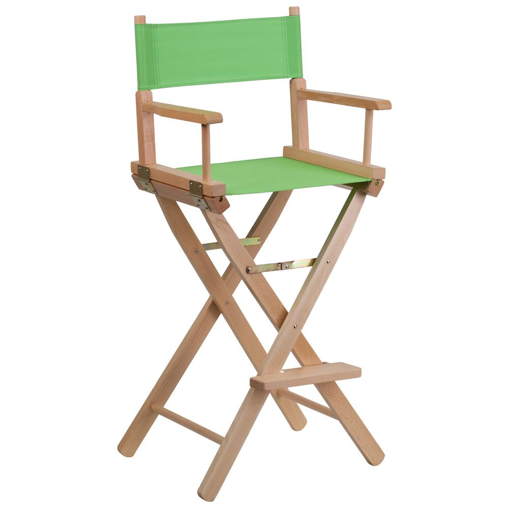 Flash Furniture Bar Height Directors Chair In Green