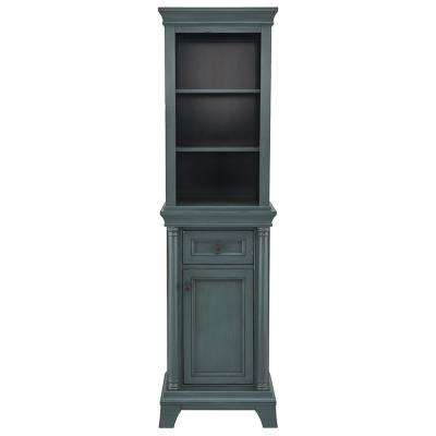 blue bathroom cabinets storage bath the home depot rh homedepot com
