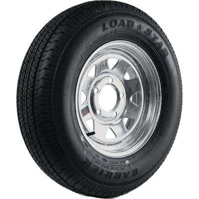 ST215/75R-14 KR03 Radial 1870 lb. Load Capacity Galvanized 14 in. Bias Tire and Wheel Assembly