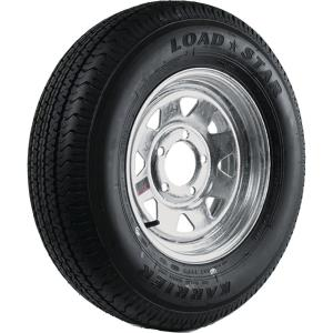 ST225/75R-15 KR03 Radial 2150 lb. Load Capacity Galvanized 15 inch Bias Trailer...