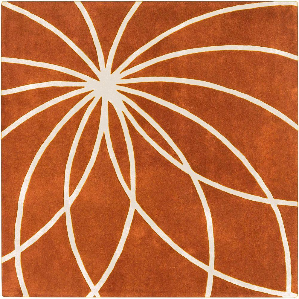 Artistic Weavers Pasir Carmine 9 ft. 9 in. x 9 ft. 9 in. Square Area Rug