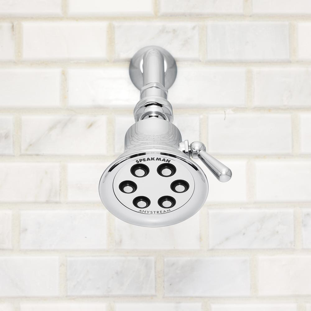 SPEAKMAN S-2254-BN Shower Head,Brass,Brushed Nickle,2.5 gpm