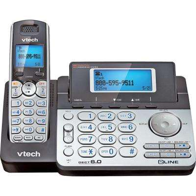 DECT 6.0 Cordless 2-Line Phone with Caller ID