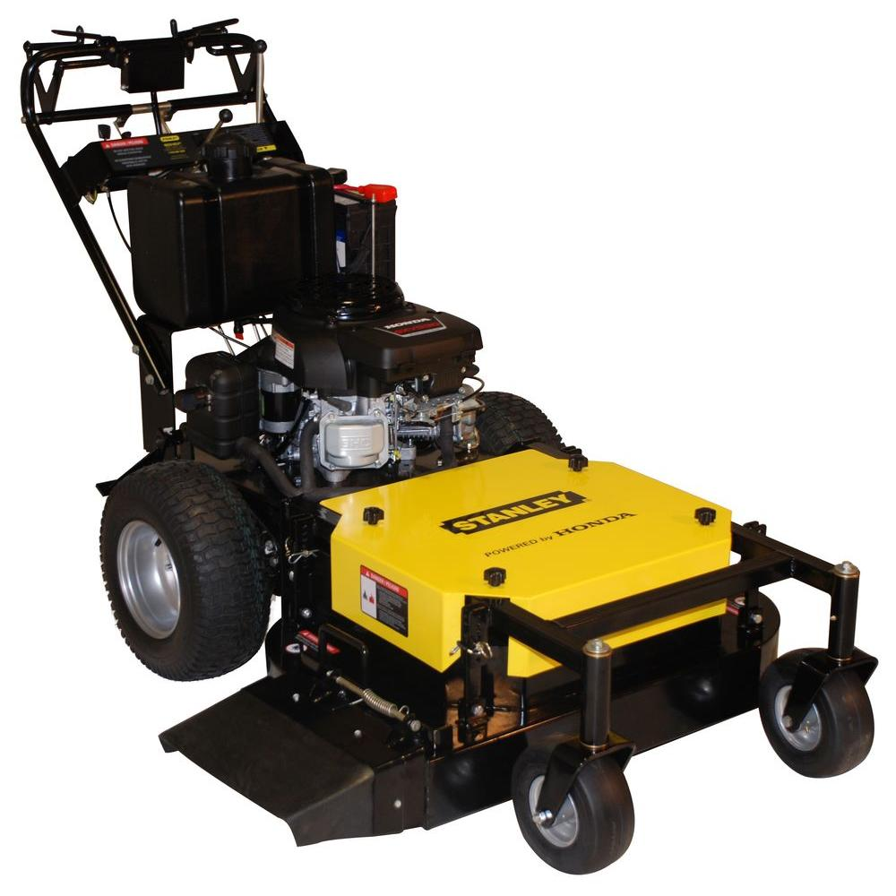 Stanley Honda GXV 530 Engine 36 in. Commercial Duty Dual-Hydro Walk-Behind Finish Cut Lawn Mower with Floating Deck