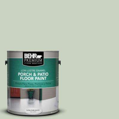1 gal. #PFC-41 Terrace View Low-Lustre Interior/Exterior Porch and Patio Floor Paint