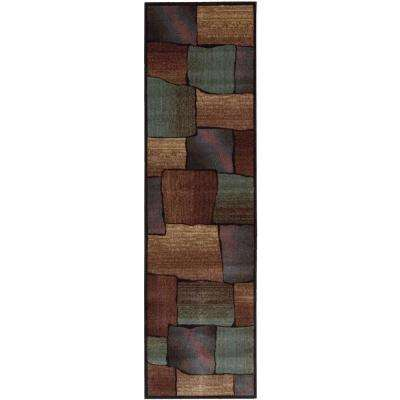Expressions Multi 2 ft. x 8 ft. Runner Rug