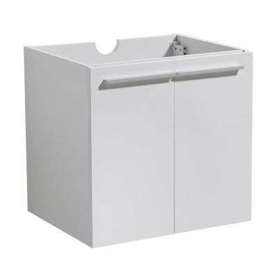 Alto 23 in. Bathroom Vanity Cabinet Only in White