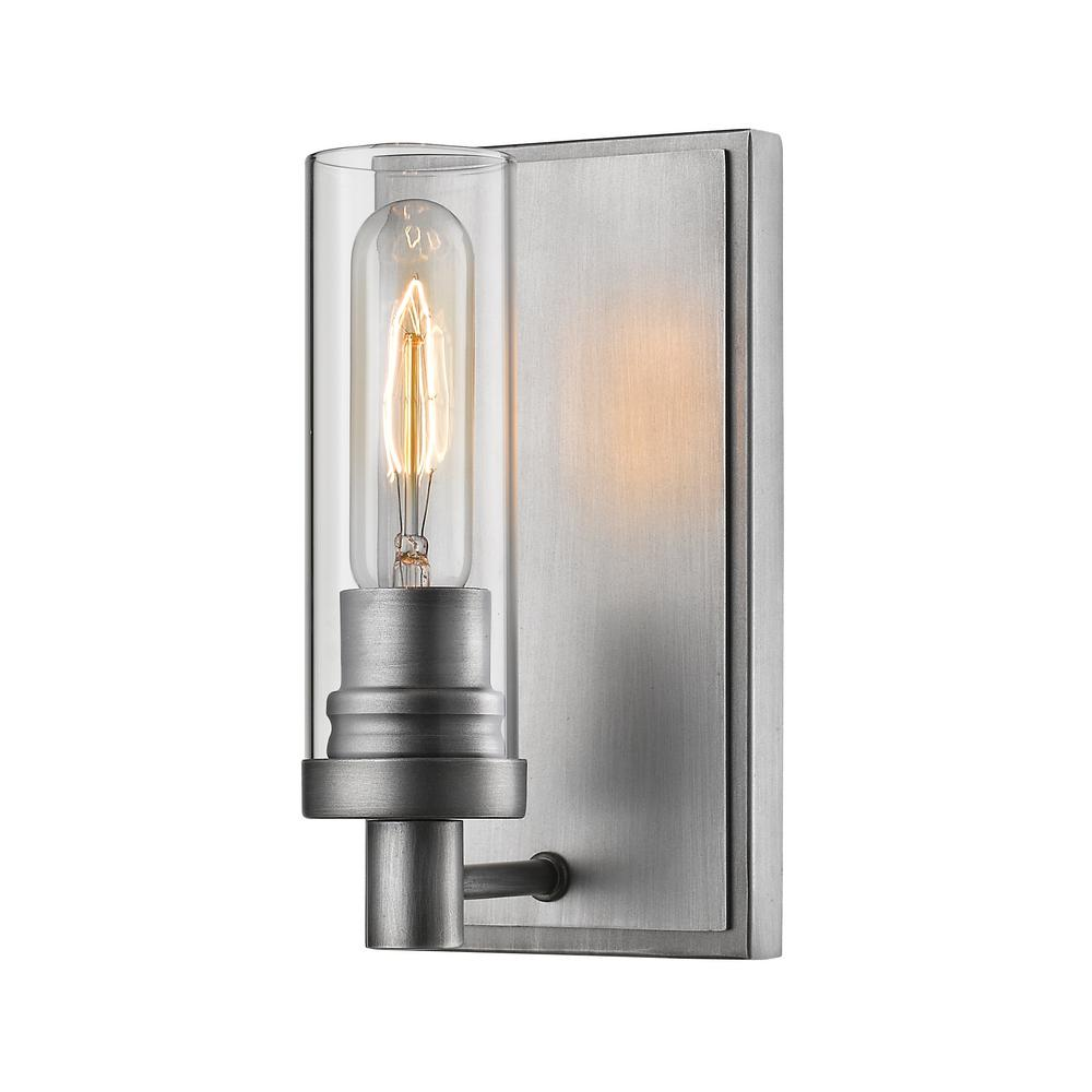 sconce item inch finish sconces capitol wall conduit cfm wide silver lighting troy shown old in