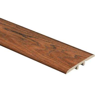 Red Hickory 5/16 in. Thick x 1-3/4 in. Wide x 72 in. Length Vinyl T-Molding