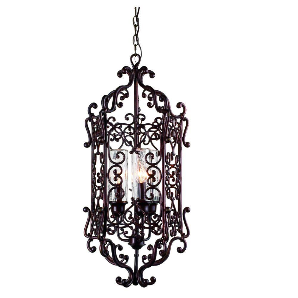Eurofase Bravada Collection Hanging Outdoor Chestnut Pendant -DISCONTINUED