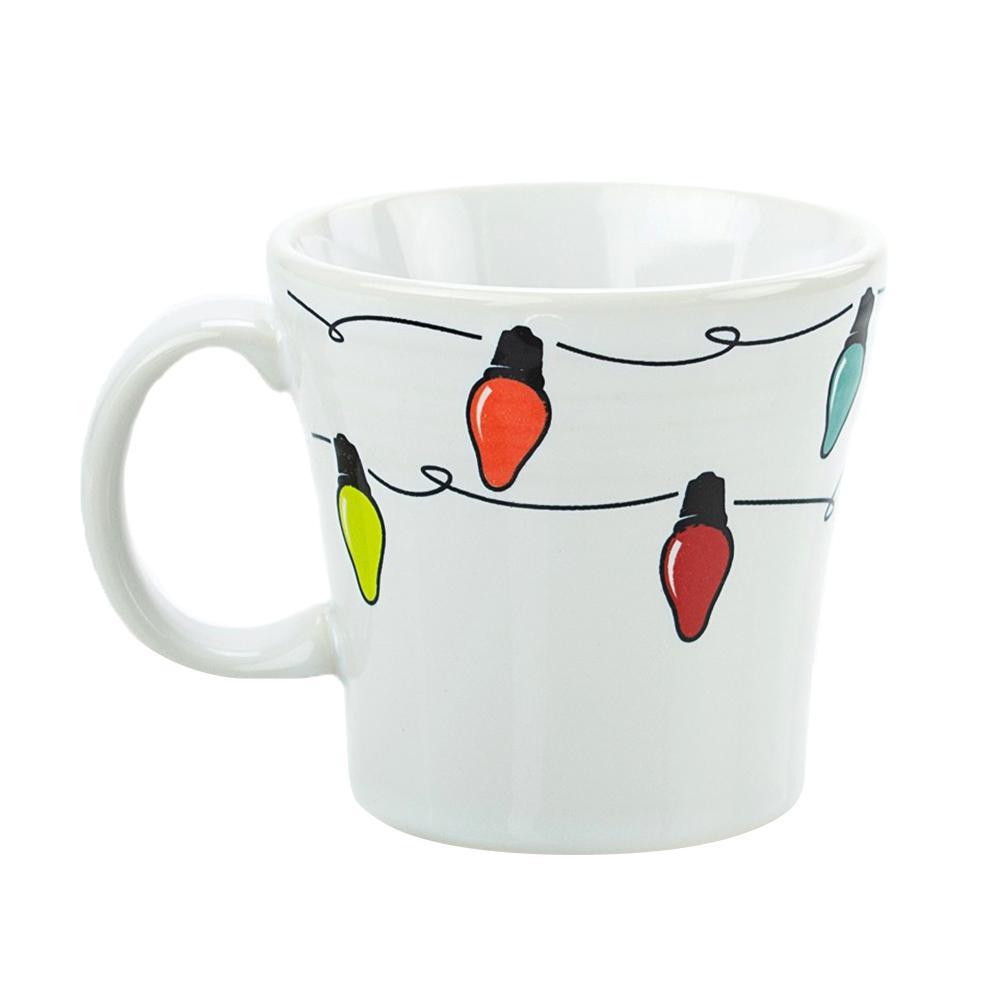 15 oz. Multi-Colored Ceramic Lights Tapered Mug