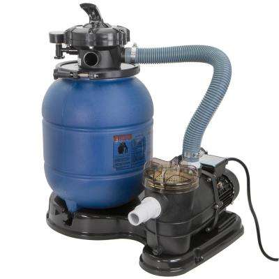 Above Ground 3/4 HP Pools Sand Filter Pump