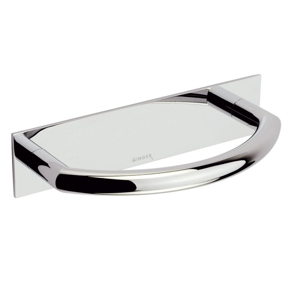 Surface Towel Ring in Polished Chrome
