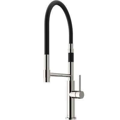 Norwood Single-Handle Pull-Down Sprayer Kitchen Faucet in Stainless Steel