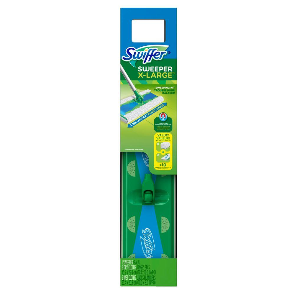 a4f8f0d8756 Swiffer Sweeper XL Dry and Wet Mop Starter Kit-003700092816 - The ...